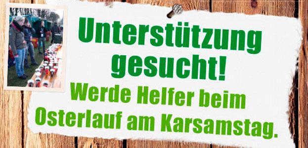 Ich bin Helfer beim Paderborner Osterlauf