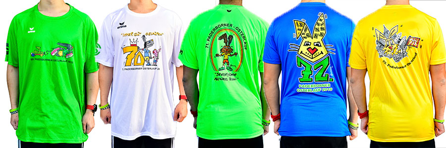 Offizielle ERIMA Osterlauf-Shirts
