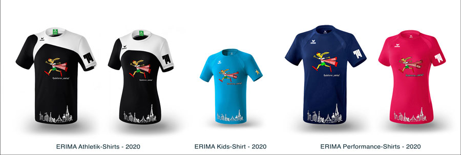 ERIMA Läufer-Shirts 2020