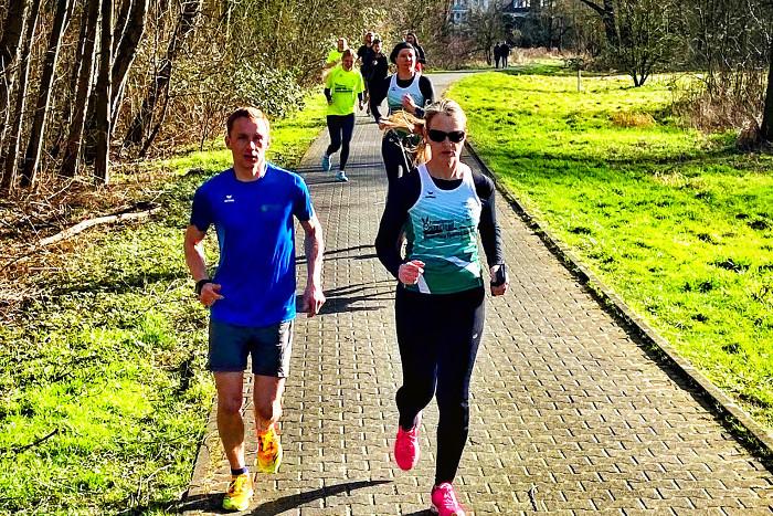 Gemeinsam Laufen am Lippesee