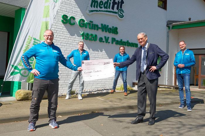2.000 EUR für die German Doctors vom Paderborner Osterlauf